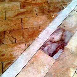 Limpeza de pisos e beiral